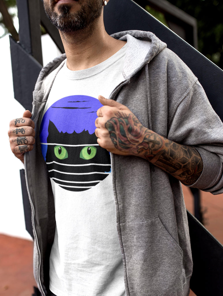 Hidden Cat - T-Shirt -stonedrockz.de