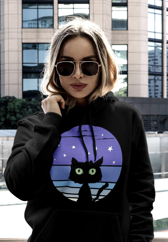 Night Cat - Hoodie -stonedrockz.de