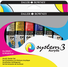 Load image into Gallery viewer, Daler Rowney System 3 Acrylic Starter Set