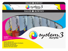 Load image into Gallery viewer, Daler Rowney System 3 Acrylic Selection Set
