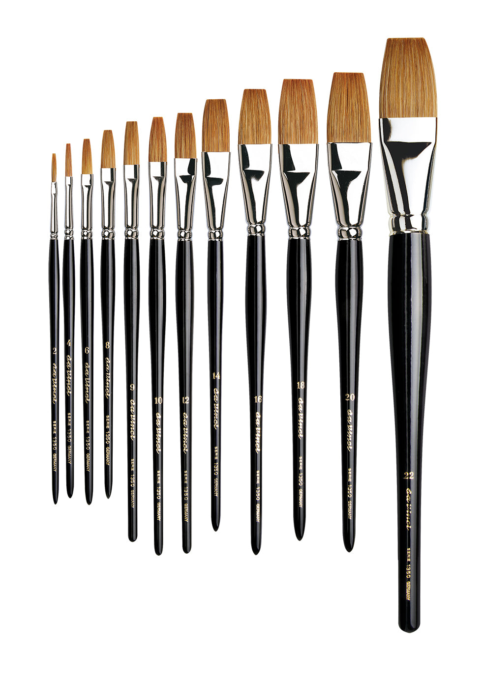 Da Vinci Series 1350 One Stroke Brushes