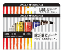 Load image into Gallery viewer, Daler Rowney PROFESSIONAL Designers Gouache Sets