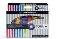 Load image into Gallery viewer, Daler Rowney AQUAFINE Gouache Sets