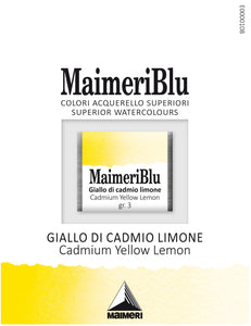 Maimeri Blu Watercolour - Half Pans