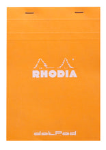 Load image into Gallery viewer, Rhodia Dot Grid Stapled Pad - ORANGE