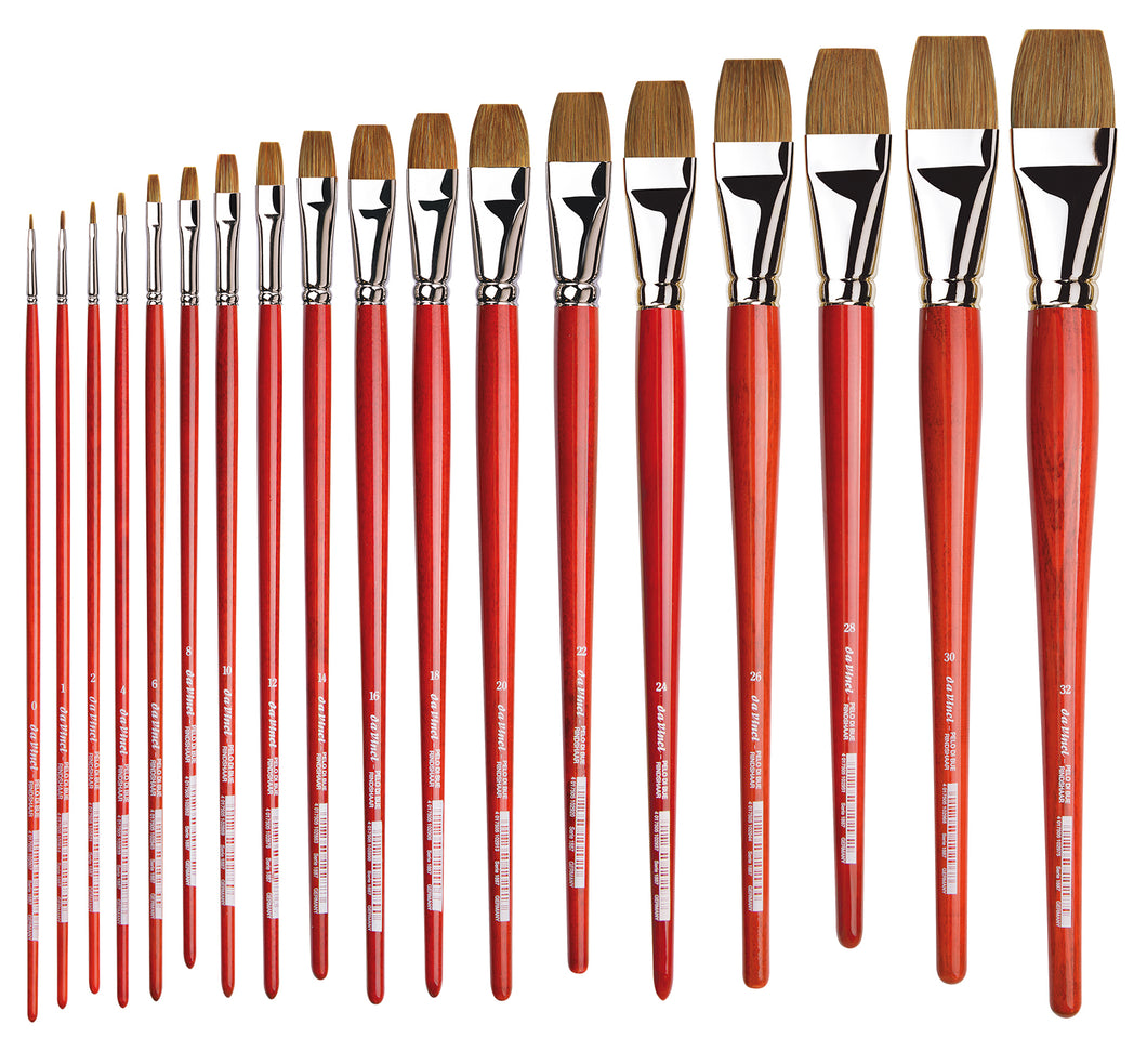 Da Vinci Series 1887 Ox Flat Brushes
