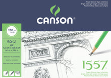 Load image into Gallery viewer, Canson 1557 Cartridge Pads - 120gsm