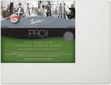 Load image into Gallery viewer, Fredrix PRO SERIES Linen Canvas Board
