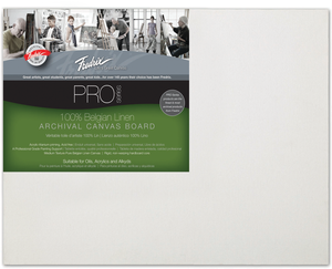Fredrix Pro Series Linen Canvas Boards