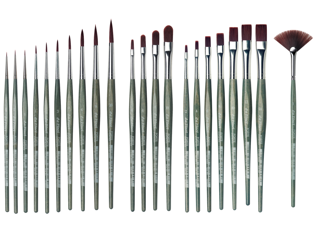 Da Vinci FORTE Series 363 Synthetic Round Brushes