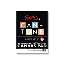 Load image into Gallery viewer, Fredrix CAN-TONE Canvas Pad