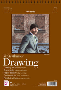 Strathmore 400 Series Heavyweight Drawing Pad - 163gsm