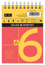 Load image into Gallery viewer, Daler Rowney Red & Yellow Smooth Cartridge Spiral Pad