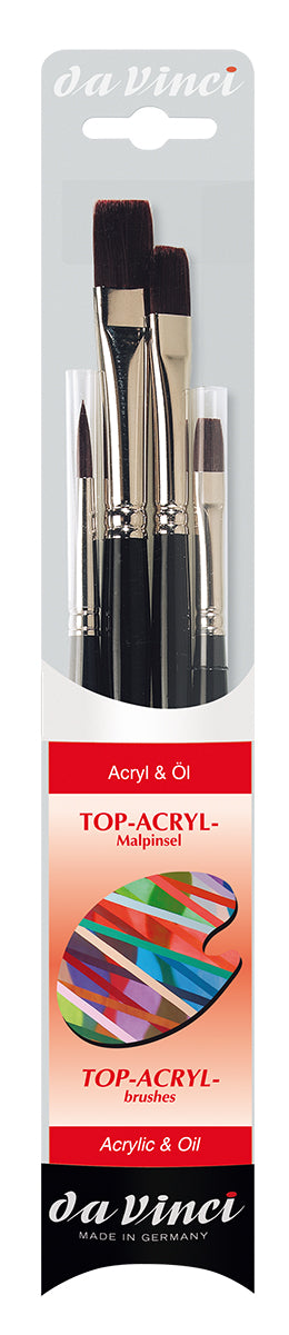 Da Vinci TOP-ACRYL Brush Set