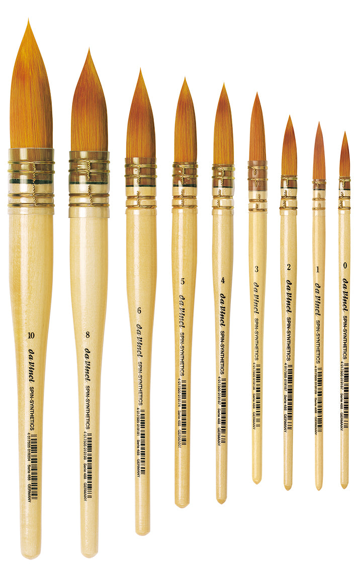 Da Vinci SPIN-SYNTHETICS Series 488 Brushes