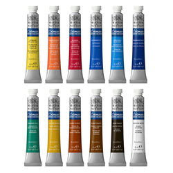 Cotman Watercolour 12 Tube Set