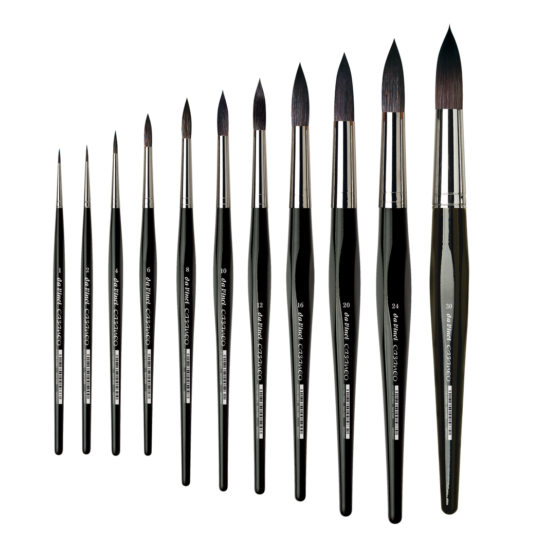 Da Vinci CASANEO Series 5598 Synthetic Round Brushes