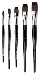 Da Vinci CASANEO Series 5898 Synthetic Flat Brushes