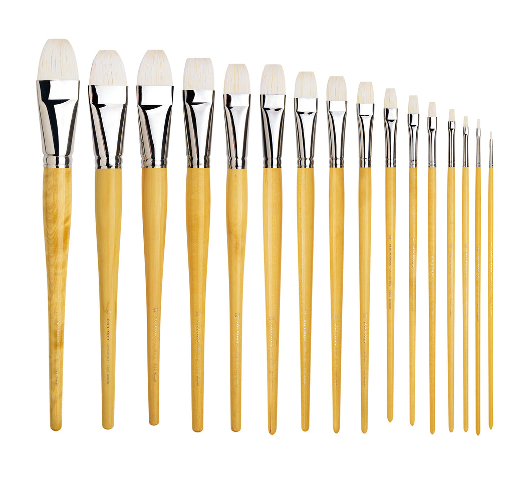 Da Vinci MAESTRO Series 7100 Hog Flat Brushes