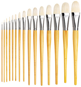 Da Vinci MAESTRO Series 7900 Hog Long Filbert Brushes