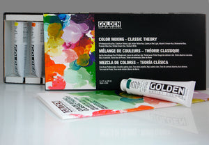 Golden Heavy Body Colour Mixing Acrylic Set