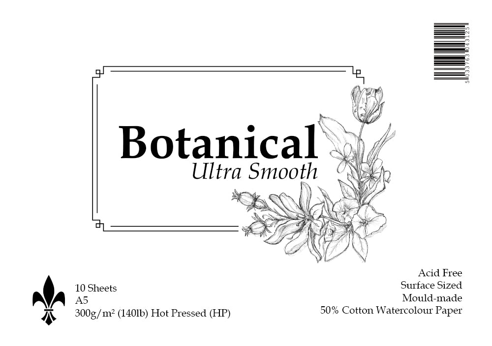 Botanical Ultra Smooth Watercolour Pads