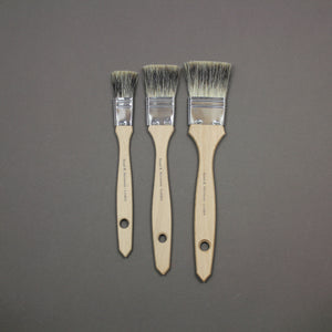 Leonard Badger Flat Brushes