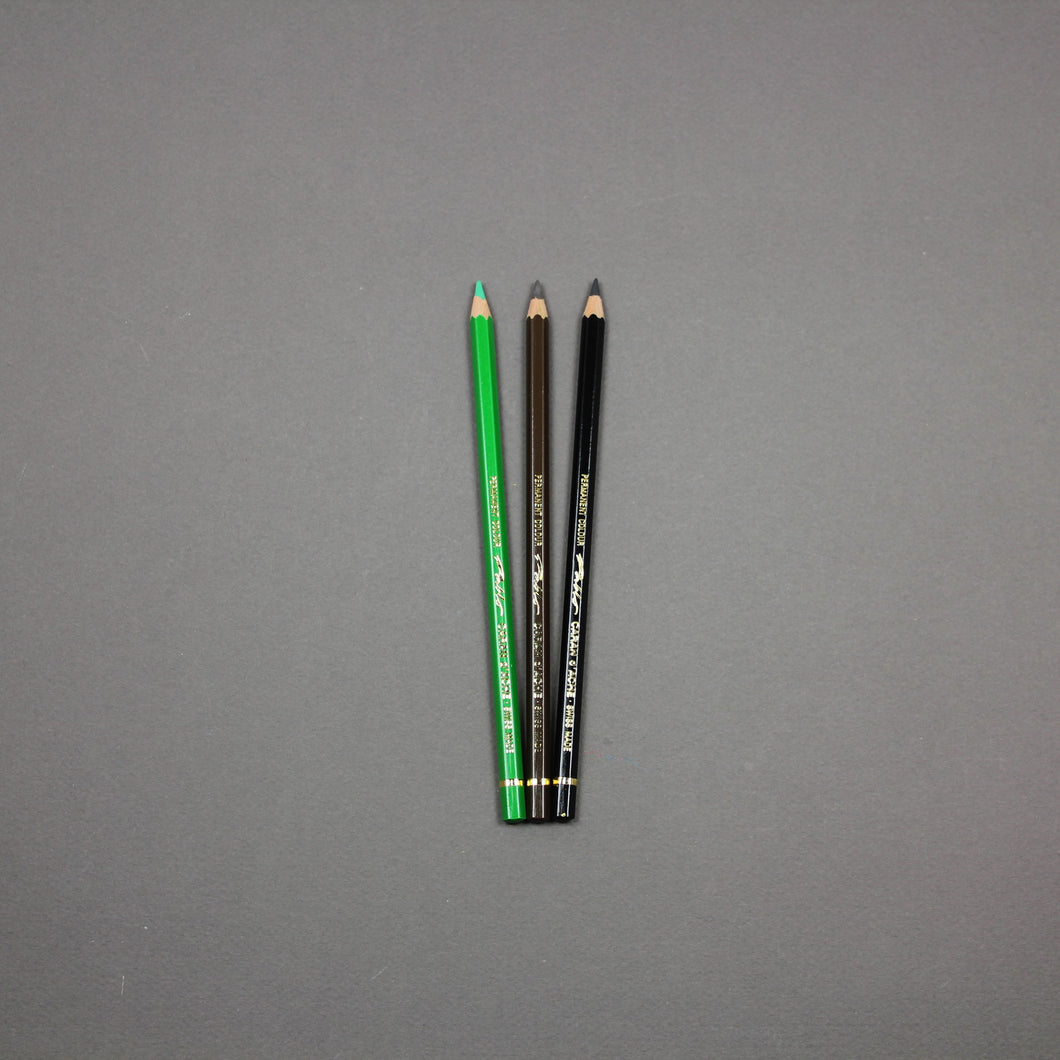 Caran d'Ache PABLO Pencils (Part 2)