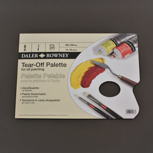 Daler Rowney Oil Painting Tear-Off Palette