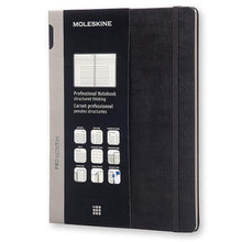 Load image into Gallery viewer, Moleskine PROFESSIONAL Hard Cover Notebook