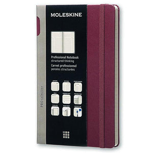 Moleskine PROFESSIONAL Hard Cover Notebook