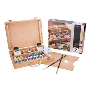 Royal Talens Van Gogh Oil Colour Wooden Box