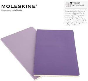 Moleskine Volant Journals - LIGHT & DARK VIOLET*