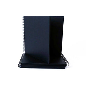 Seawhite Black Card Display Books