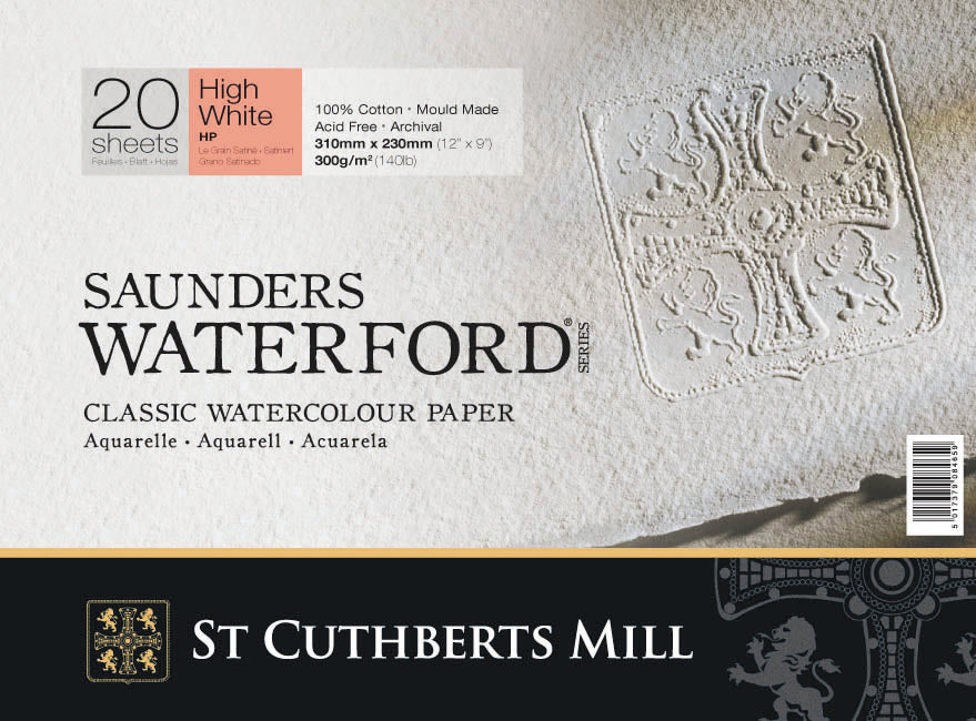 Saunders Waterford Blocks - High White Shade