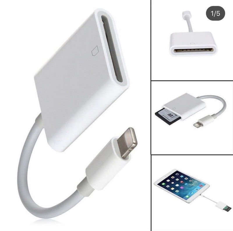 Adaptador iphone (Camara)