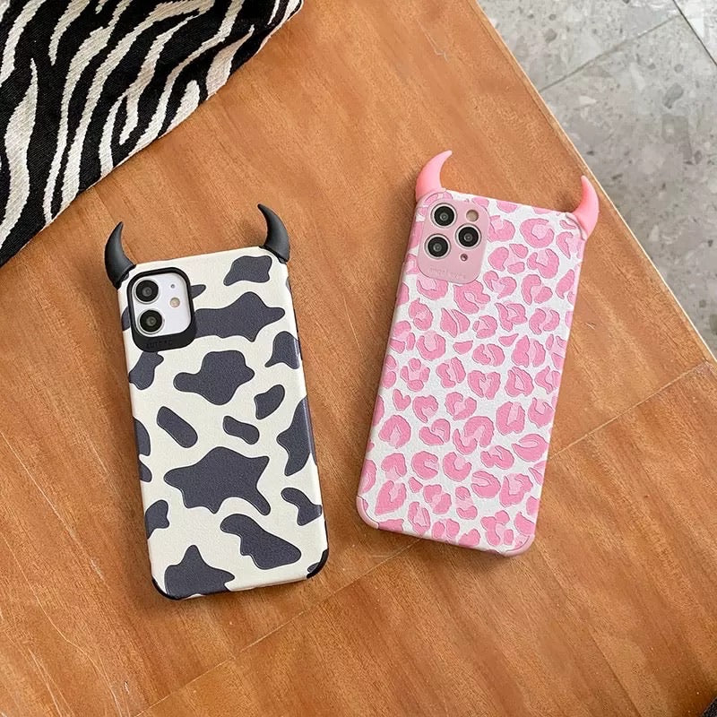 Fundas Iphone Leopardo y Vaca