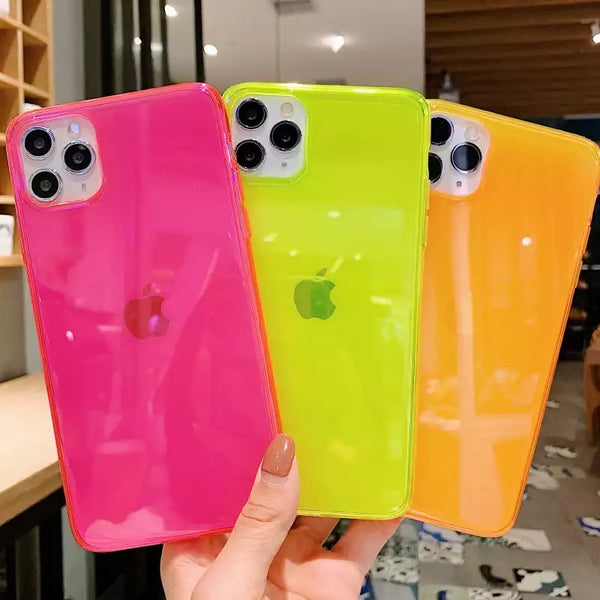 Fundas Iphone (fluorescentes)
