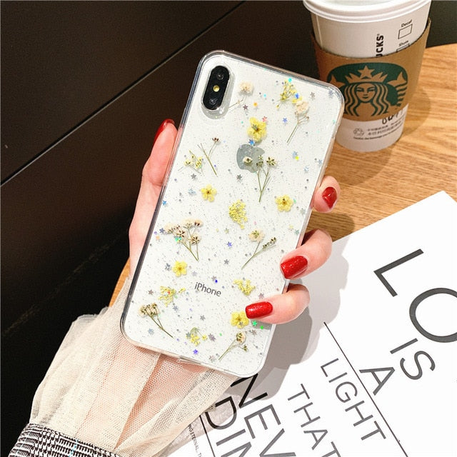 Fundas Iphone Flores
