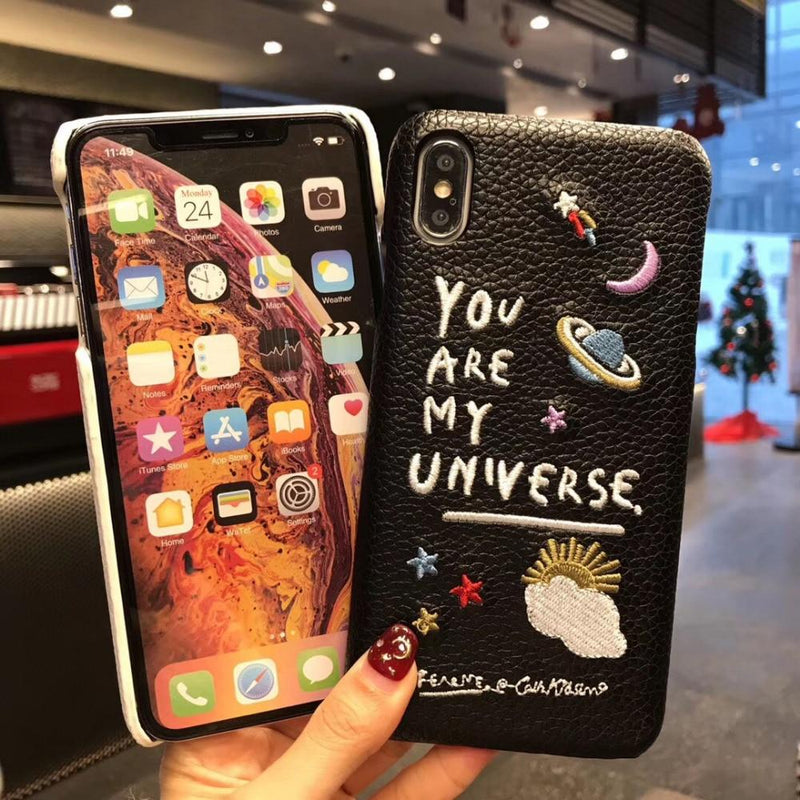Fundas para Iphone  (You Are My Universe)