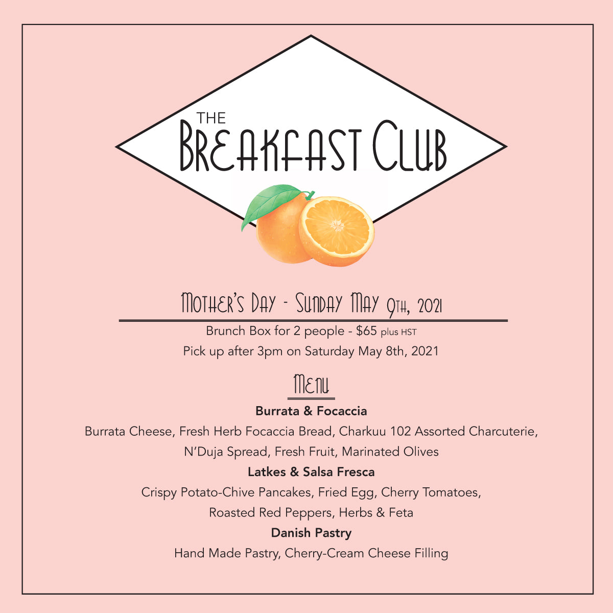 Breakfast Club - Mother's Day Edition