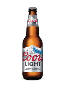 Coors Light 330ml bottle