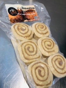 Bakeshop on Boundary - Bake at Home Cinnamon Buns - 6 pack