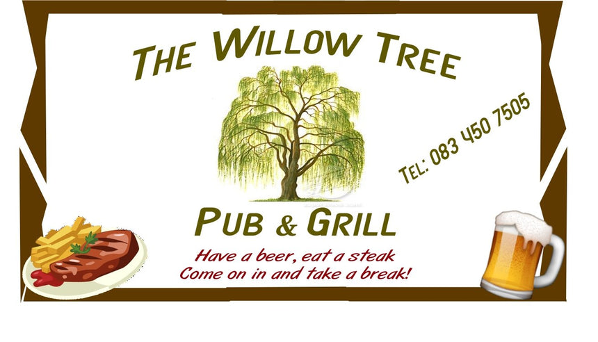 The Willow Tree Pub and Grill (Heatherdale, Akasia/Gauteng) - Gift Card