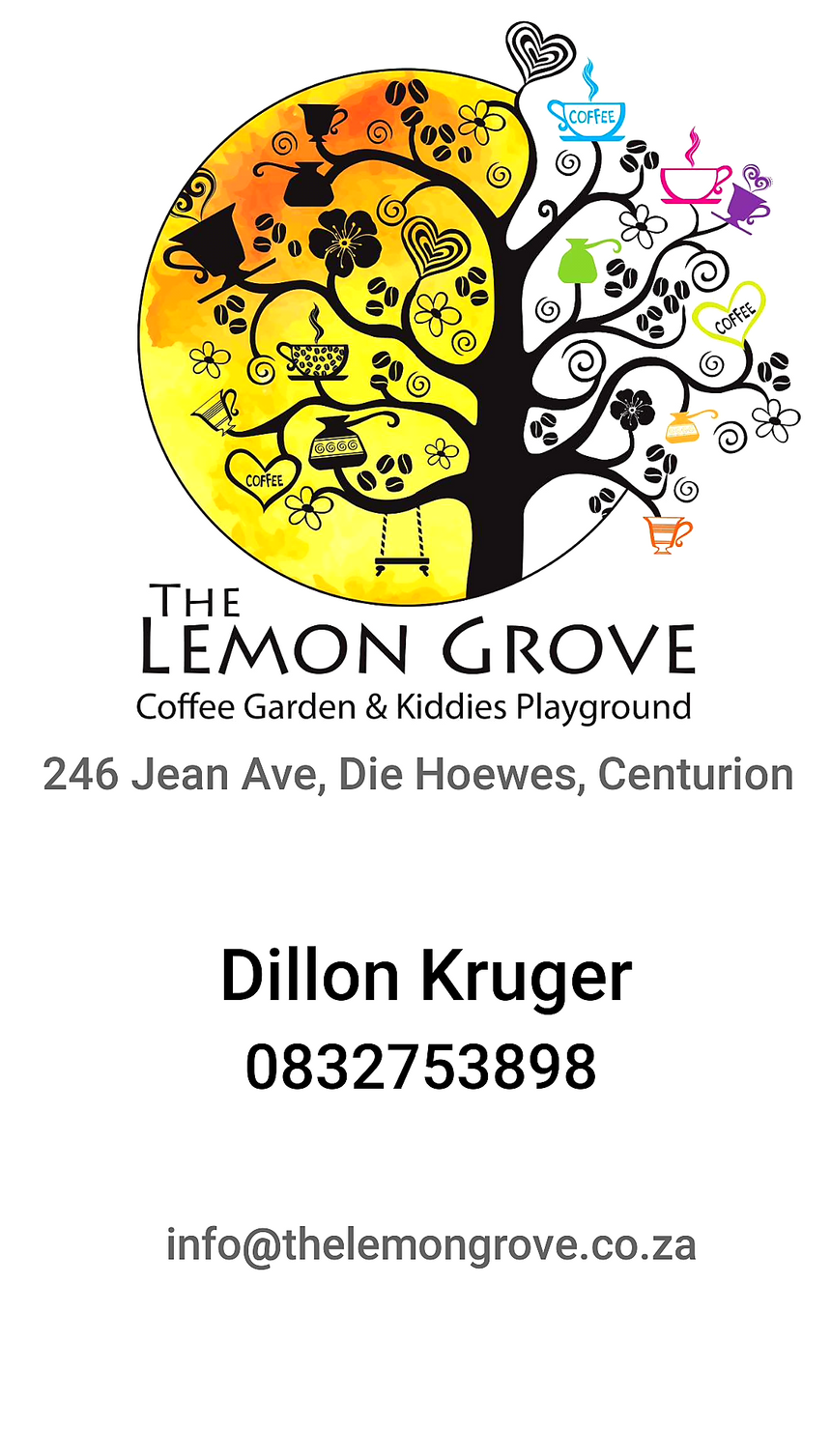 The Lemon Grove (Centurion/Gauteng) - Top Up