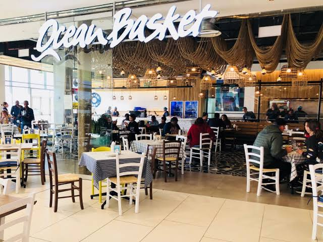 Ocean Basket Blue Route Mall (Cape Town/Western Cape) - Top Up