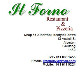 Dros New Redruth (Alberton/Gauteng) - Gift Card