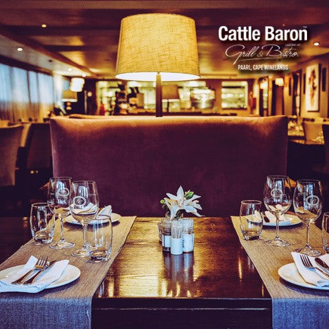 Cattle Baron Grill and Bistro Paarl (Paarl/Western Cape) - Top Up