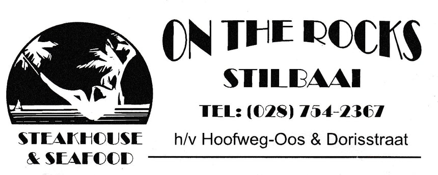 On The Rocks Stilbaai (Stilbaai/Western Cape) - Gift Card