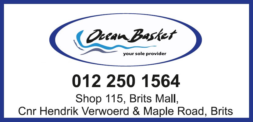 Ocean Basket Brits Mall (Brits/North West) - Gift Card
